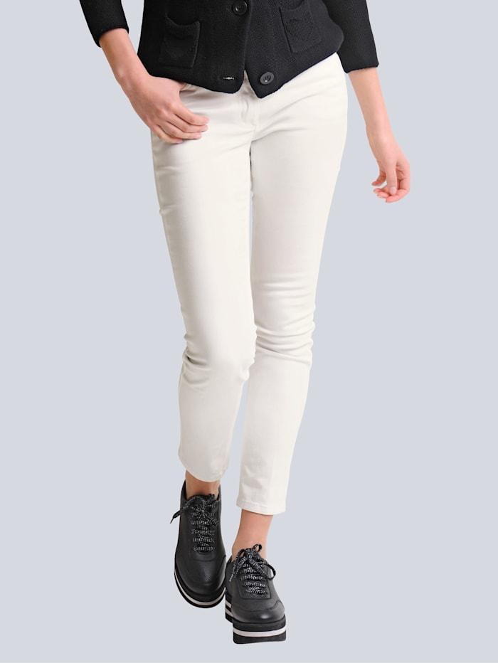 Alba Moda Jeans mit Push-up Funktion, Weiß
