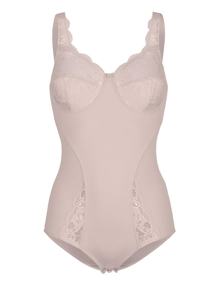 Susa Shapewear Body aus elastischem Material, Hellrosa