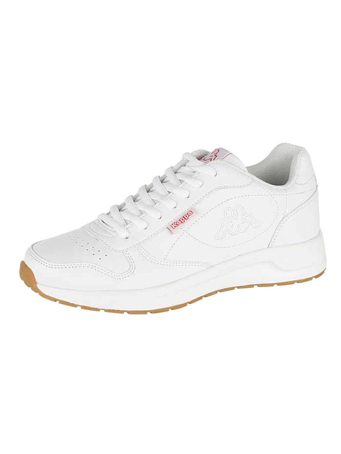 Kappa Trainers in a unisex design, White
