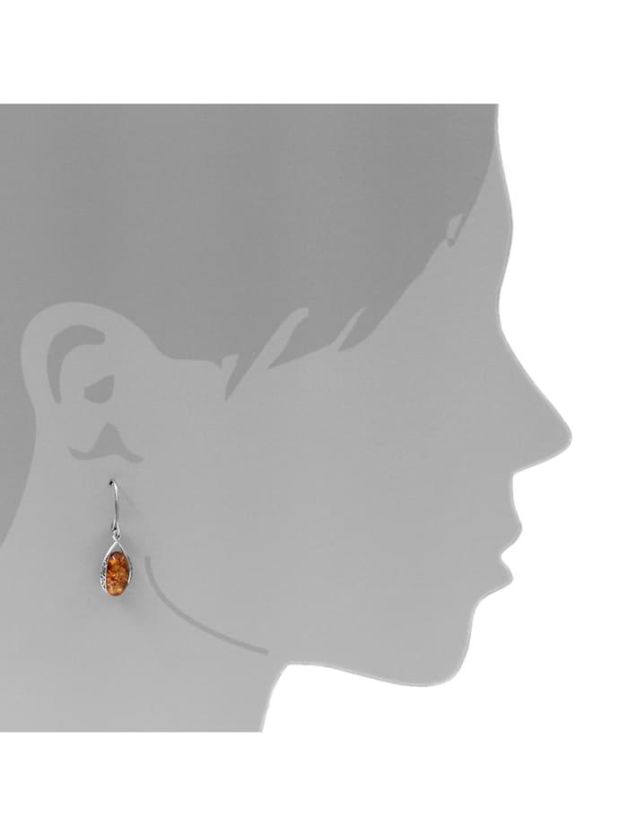 Ohrhänger - Annika - Silber 925/000 - Bernstein