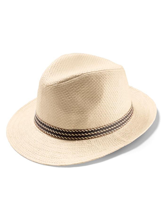 BABISTA Chapeau de paille Un ravissant chapeau pour l'été!, Beige
