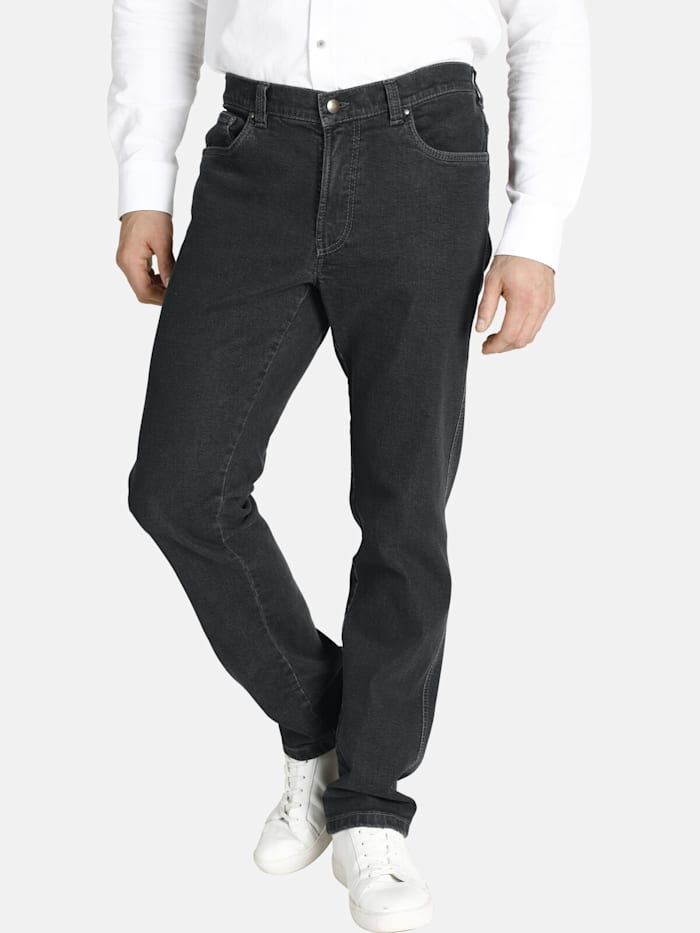 Charles Colby Charles Colby Jeans DUKE LINOEL, dunkelgrau