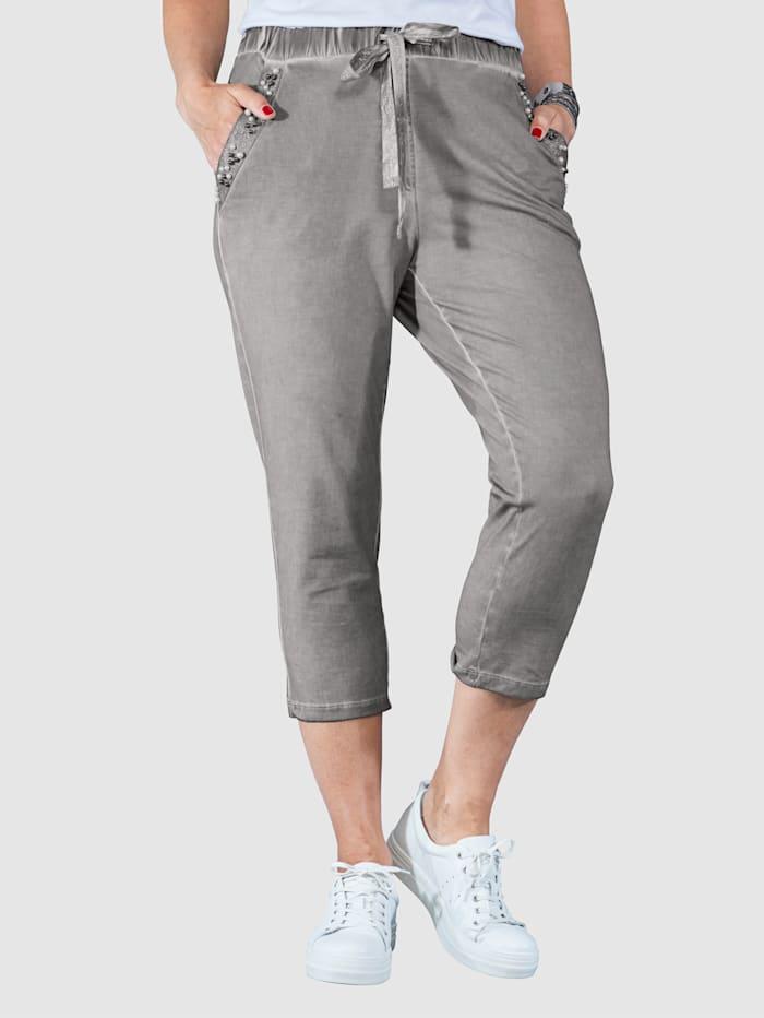 Pantalon en molleton Coupe raccourcie estivale