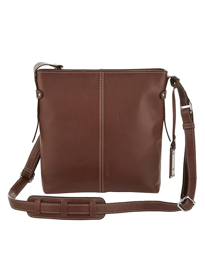 Handtasche mit praktischen Steckfächern