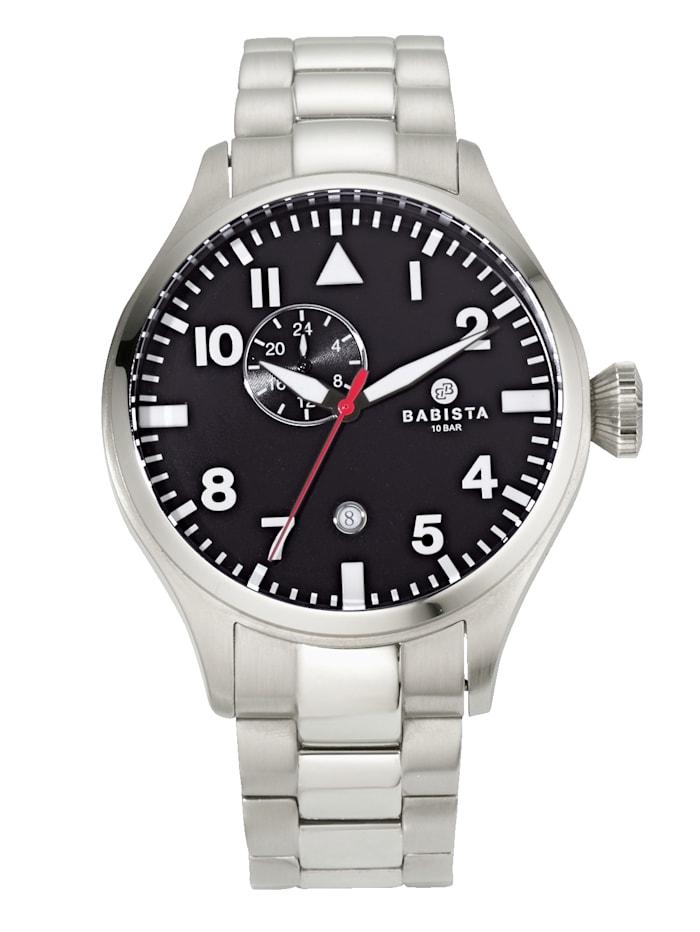 BABISTA Automatisch herenhorloge AS4025-08E, Zilverkleur