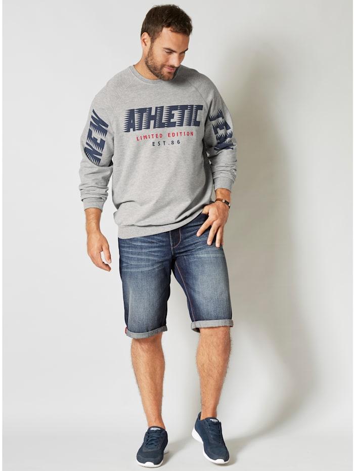 Sweatshirt in angenehmer Sommerqualität