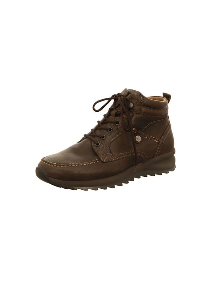 Waldläufer Stiefel Stiefel, braun