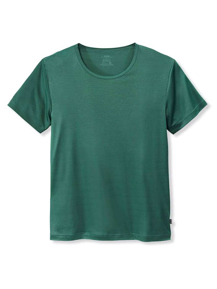 Calida Kurzarm-Shirt, Compostable STANDARD 100 by OEKO-TEX zertifiziert, Marsh Green