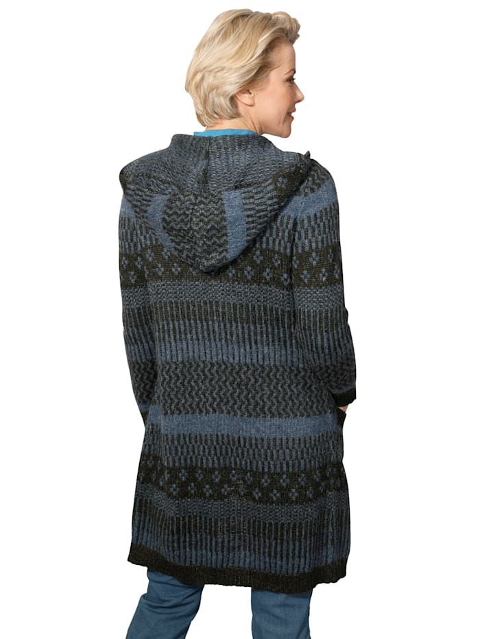 Vest van jacquard