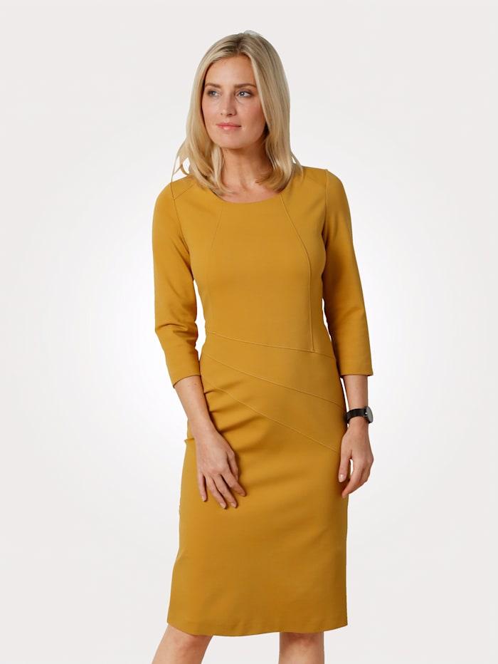 MONA Kleid in Jersey-Qualität, Gelb