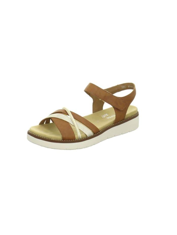 Remonte Sandalen/Sandaletten, braun