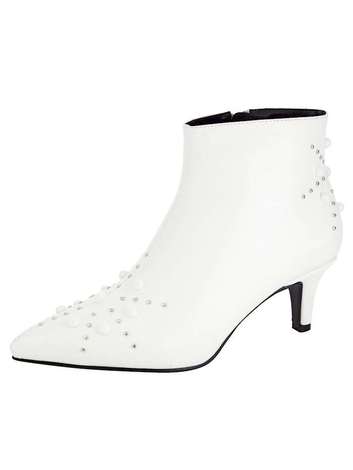 Liva Loop Stiefelette in modischer Ausführung, Weiß