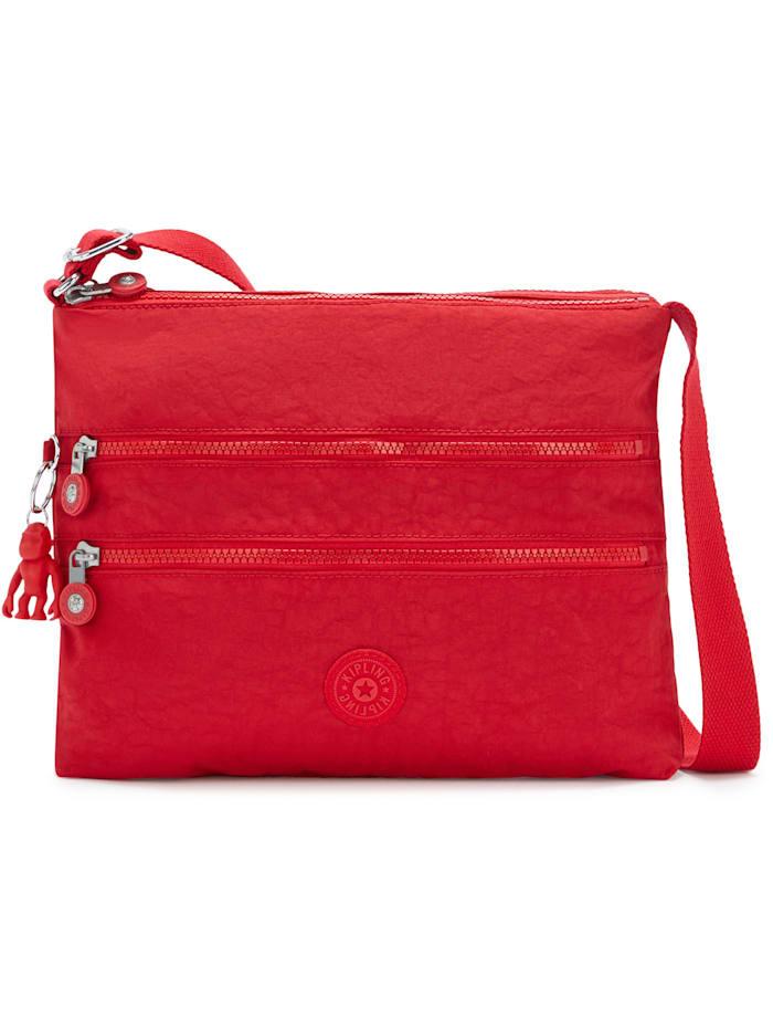 Kipling Basic Alvar Umhängetasche 33 cm, red rouge