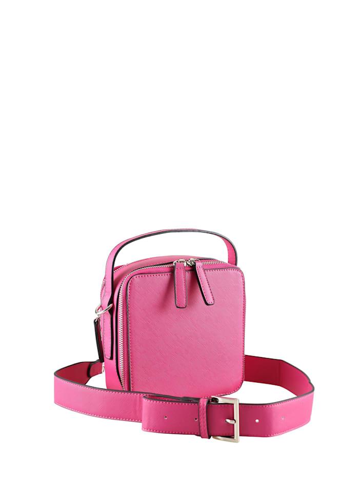 Collezione Alessandro Lässige Umhängetasche Andrina schlichtes Design, pink