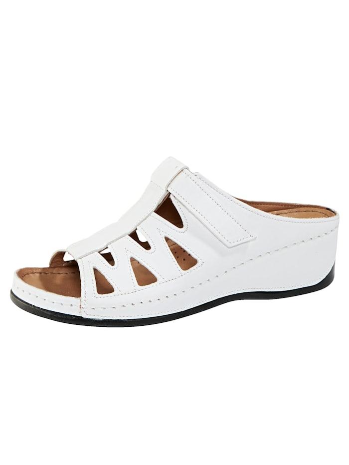 Gemini Pantolette, Weiß