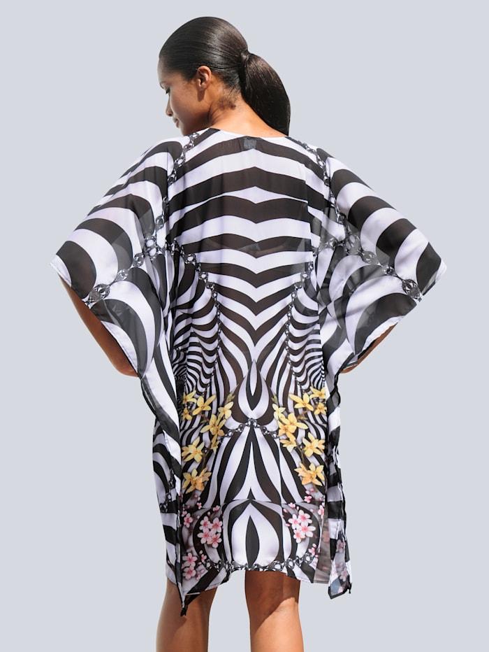 Tunika im Zebra-Dessin