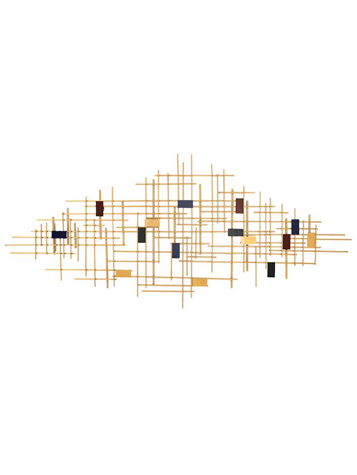 IMPRESSIONEN living Wand-Deko, goldfarben/bunt