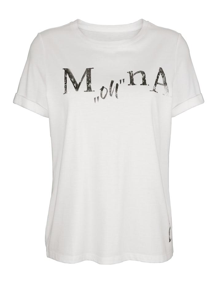 Shirt met exclusief opschrift