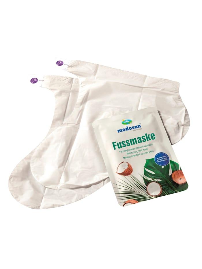 MedoVital Voetmasker voor intensieve verzorging, wit