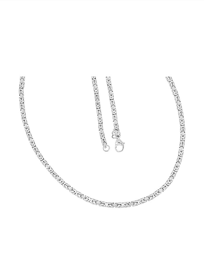 Diemer Silber Koningsketting, Zilverkleur