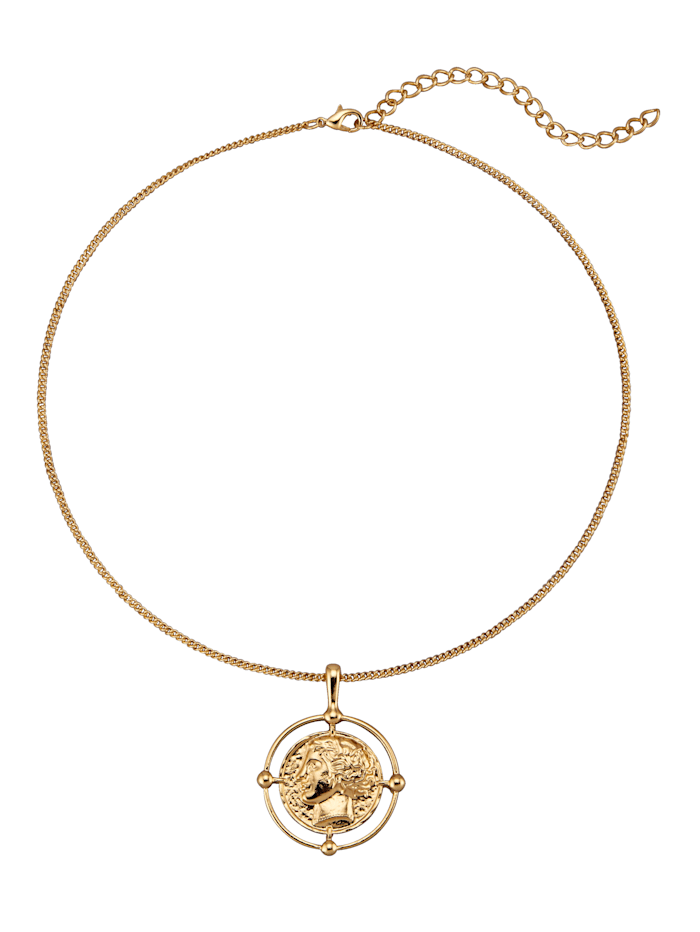 Pendant with Chain and Coin
