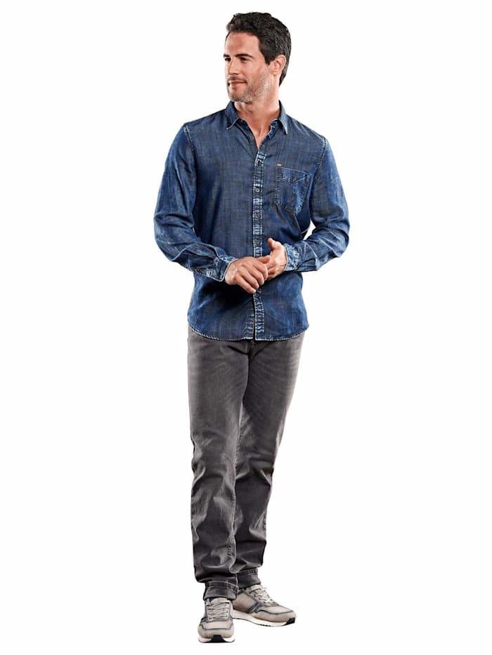 Hemd Jeans-Optik