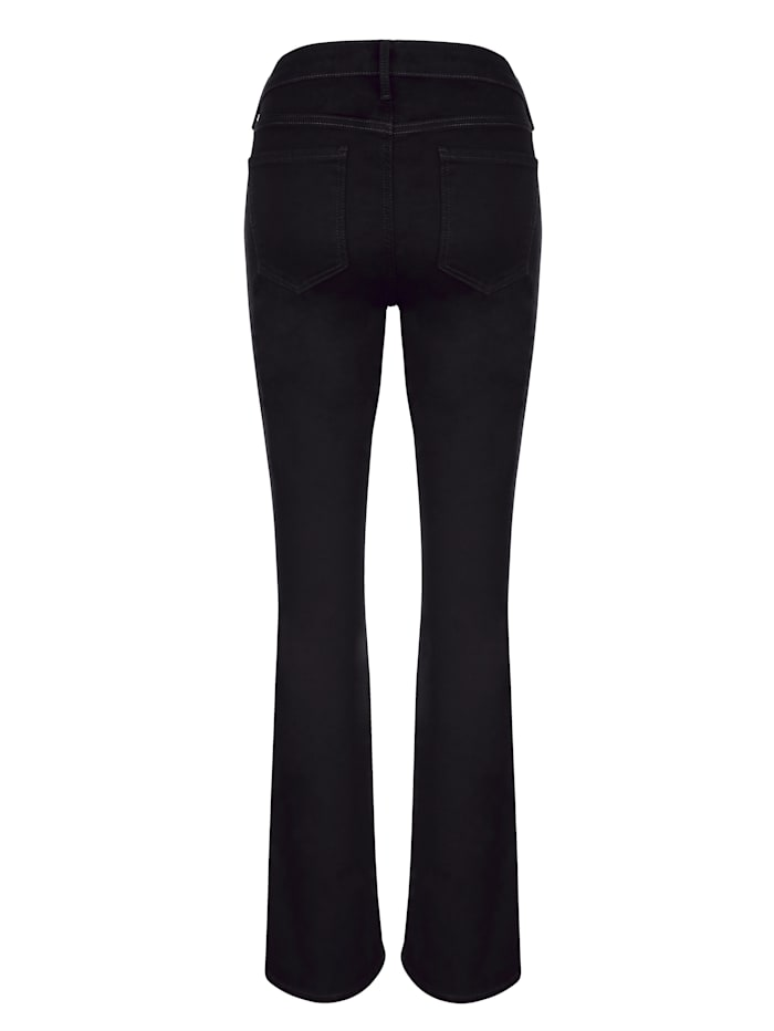 Jeans Bootcut model met uitlopende pijpen