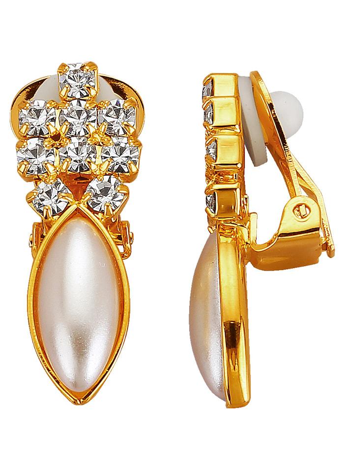 Golden Style Oorclips, Geel