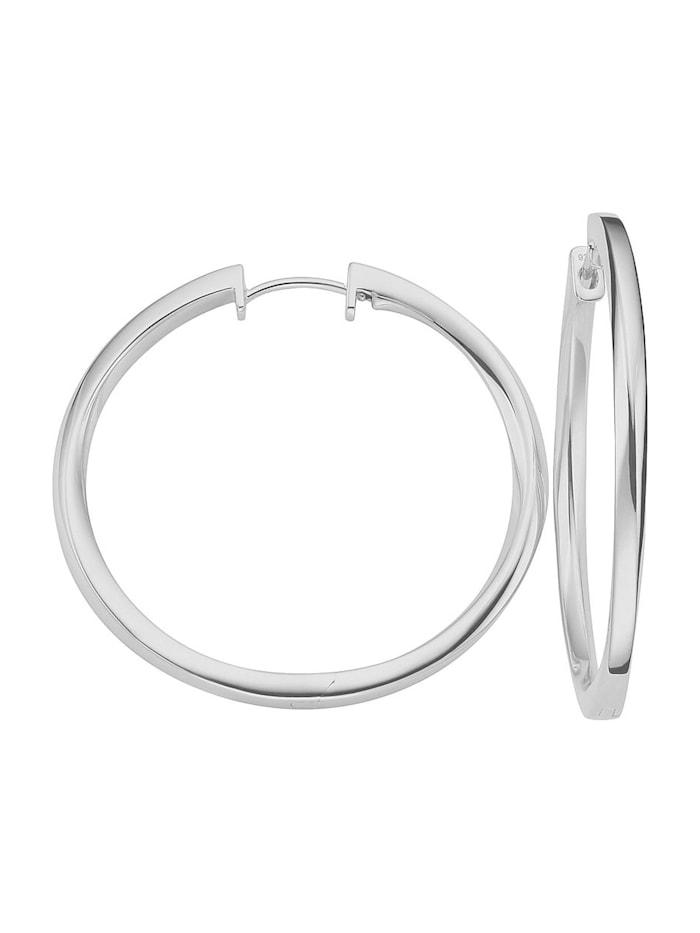 JETTE Silver Damen-Creolen 925er Silber