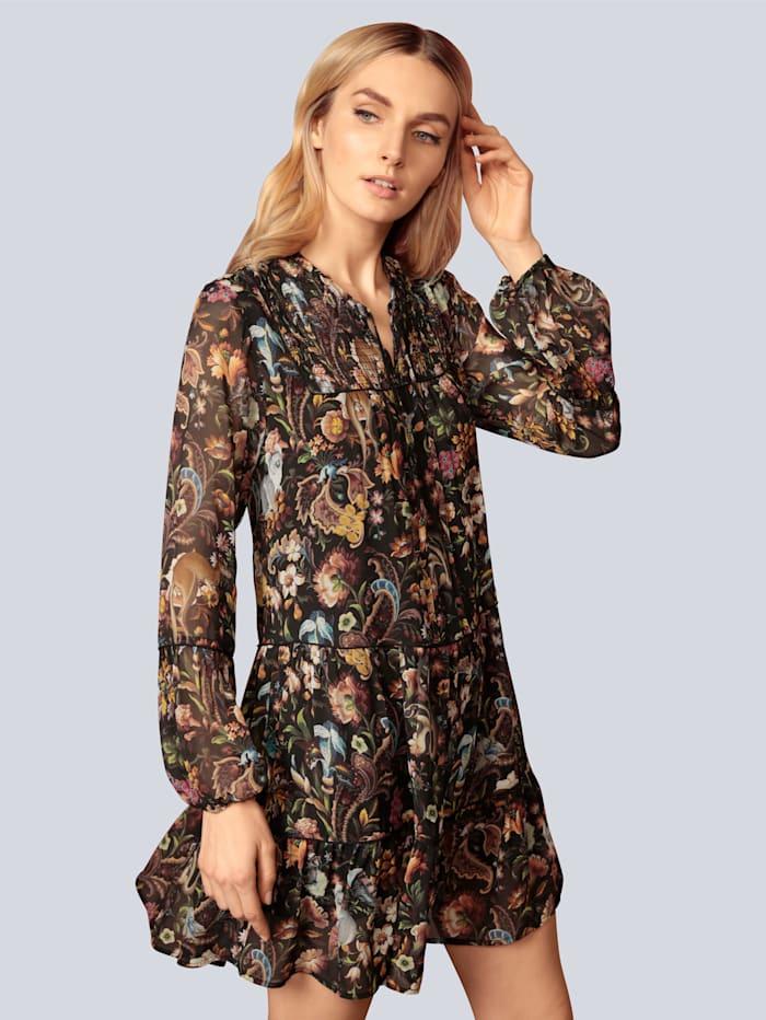Princess GOES HOLLYWOOD Kleid aus leichtem Chiffon, Schwarz