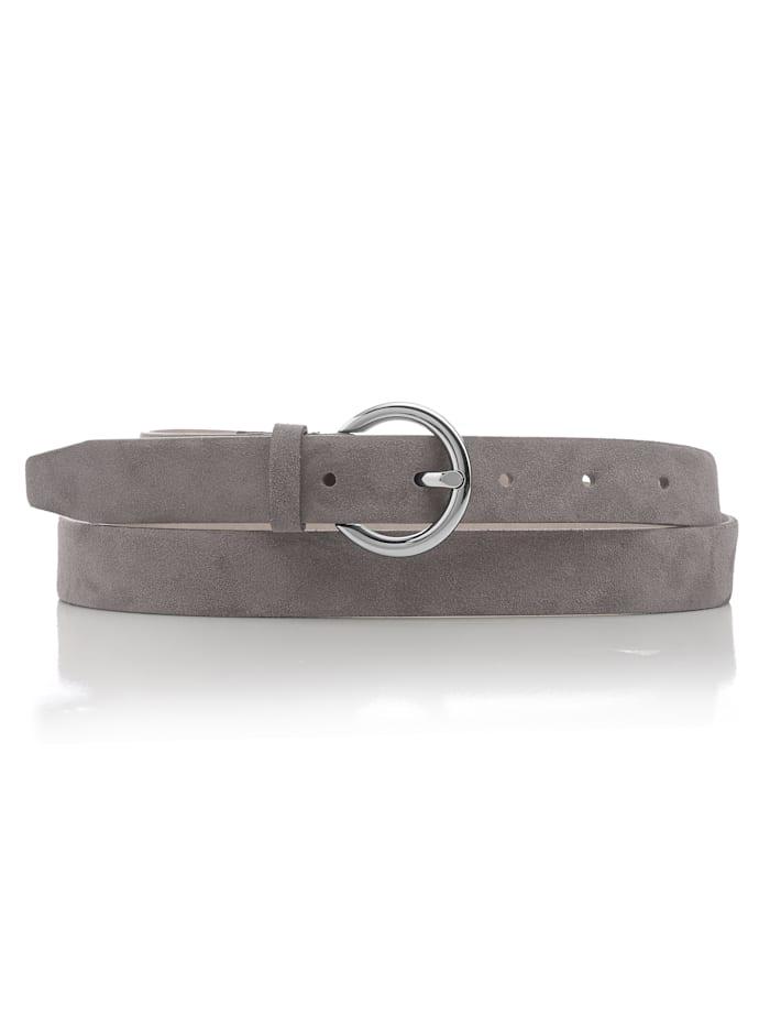 BRAX Gürtel in schlichter Form, Grau