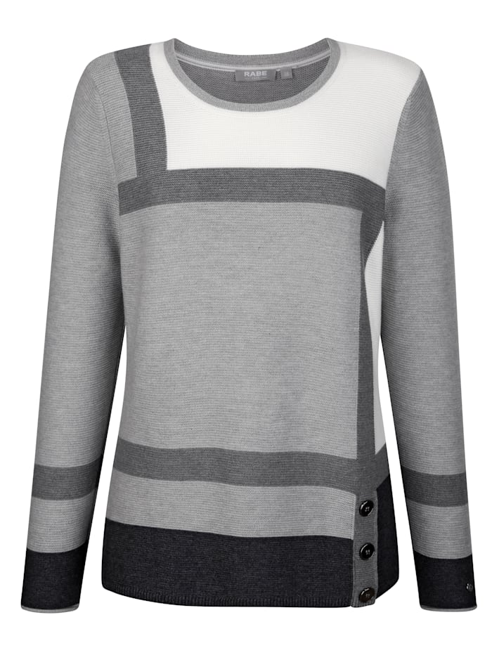 Jumper with button detailing