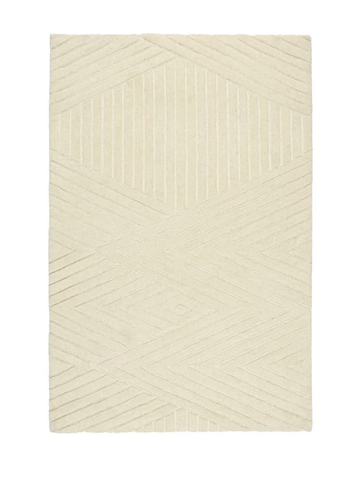 IMPRESSIONEN living Teppich, Weiß
