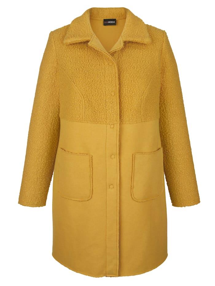 Mantel in Doppeloptik