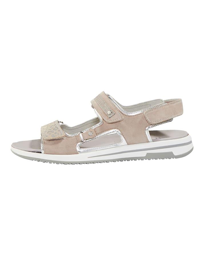 Sandaaltje met glitterbandjes