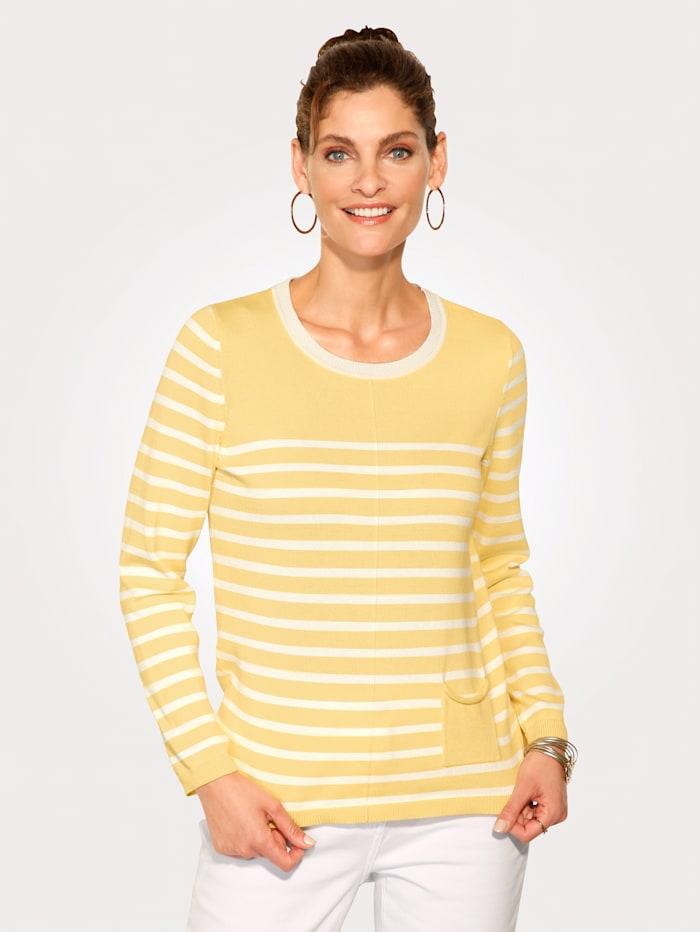 Pullover aus reiner Pima Baumwolle