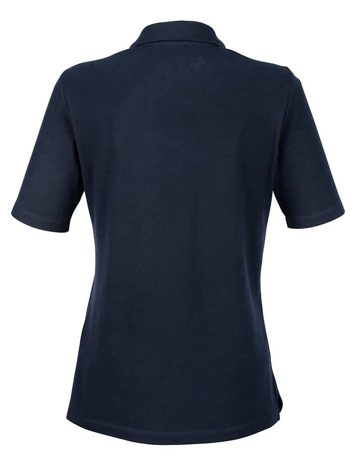 Poloshirt in Piquee-Qualität