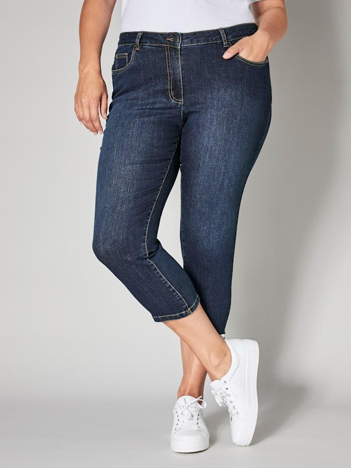 Janet & Joyce 7/8 Jeans, Blau