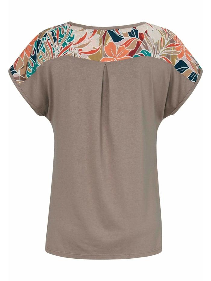 Kurzarmbluse Blusen-Shirt