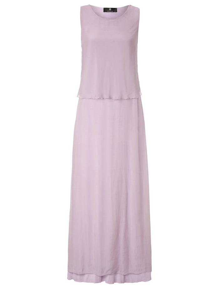 SIENNA Maxikleid in Pastellfarbe, Lavendel