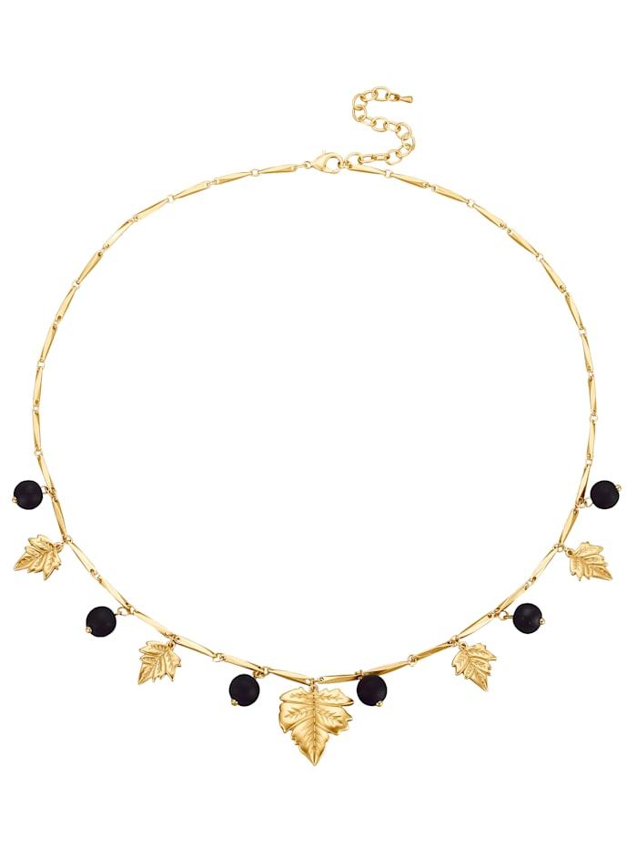 Halskette mit Blattelementen
