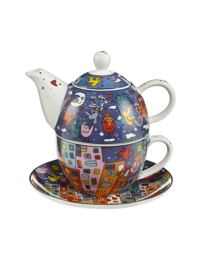 Goebel Goebel Tea for One James Rizzi - City Birds, Rizzi - City Birds