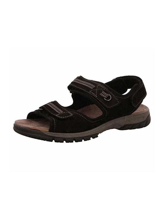 Waldläufer Sandalen, schwarz