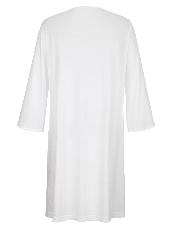Chemise de nuit à dentelle brodée haut de gamme