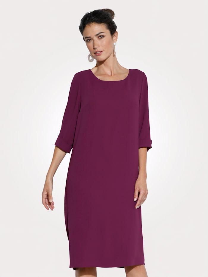 MONA Kleid mit aparter Rückenlösung, Fuchsia