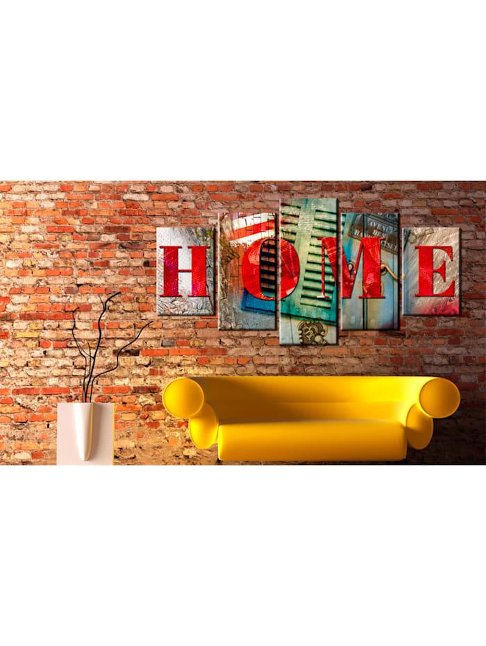 Wandbild Elements of home