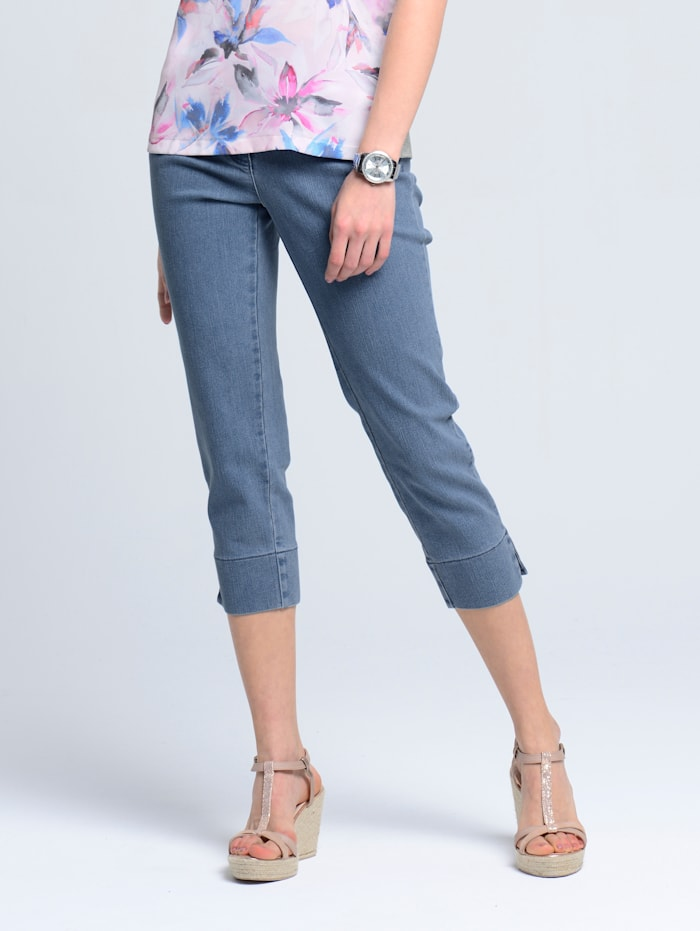 Alba Moda Jeans in trageangenehmer Qualität, Blau