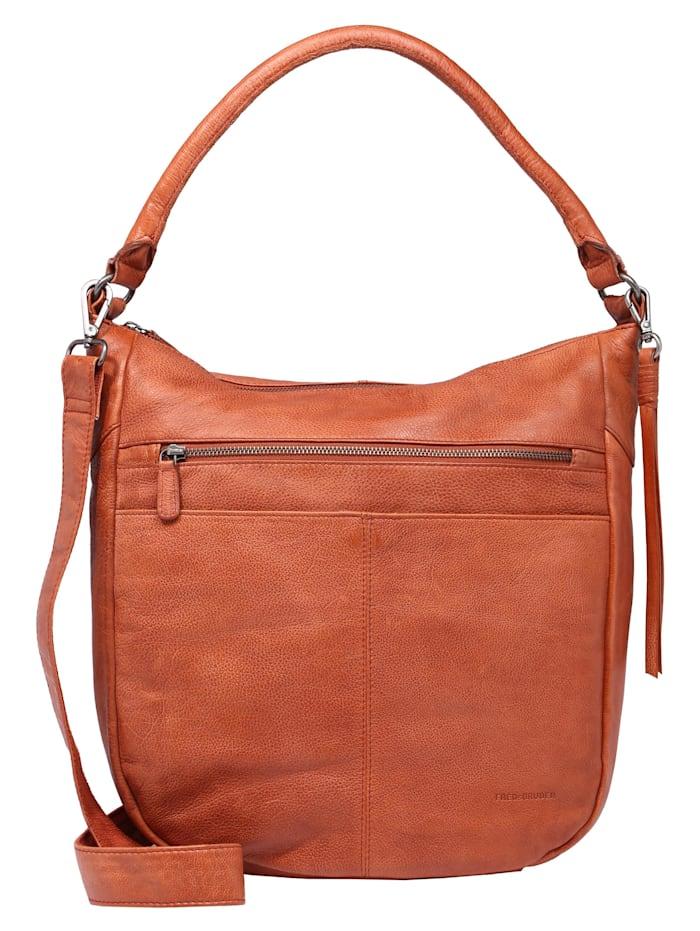 FredsBruder Hobo Bag Studdy, burned orange