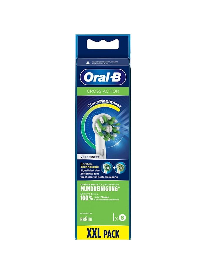 Aufsteckbürste Oral-B CrossAction mit CleanMaximiser 8er