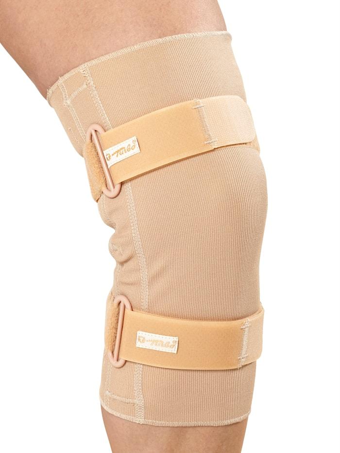 Turbo® Med Kniebandage - anatomische Passform, beige